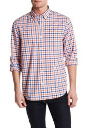 Bonobos Bold Check Regular Fit Sport Shirt Blue