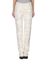 Dolce And Gabbana Casual Pants White