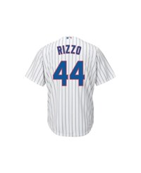 Majestic Anthony Rizzo Chicago Cubs Player Replica Jersey White