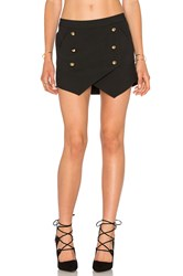 Michelle Mason Military Skirt Black