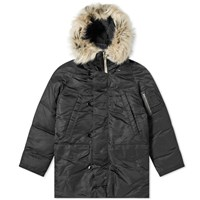 Nanamica Harbor Down Coat Black