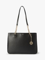 Dkny Bryant Park Leather Shoulder Bag Black