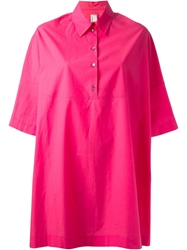Antonio Marras Oversized Shirt Pink And Purple