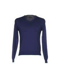 Henry Cotton's Sweaters Blue