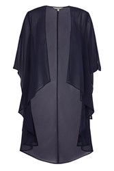 Coast Carrie Long Line Cape Blue