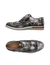 Gold Brothers Lace Up Shoes Steel Grey