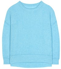 By Malene Birger Biagio Wool And Mohair Pullover Blue