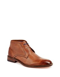 Ted Baker Torsdi 4 Leather Chukka Boots Tan
