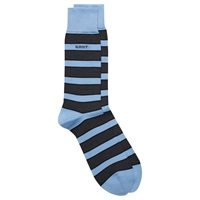 Gant Prep Stripe Cotton Socks One Size Blue