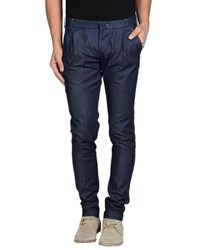 Entre Amis Men Trousers Casual Trousers Men Dark Blue