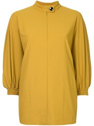 08Sircus Band Collar Blouse Yellow