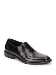 Kenneth Cole Strike It Leather Loafers Black