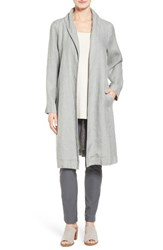 Eileen Fisher Women's Long Organic Linen Jacket