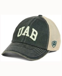 Top Of The World Alabama Birmingham Blazers Wicker Mesh Cap Green Tan