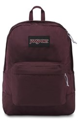 Jansport Black Label Superbreak Backpack Purple Dried Fig