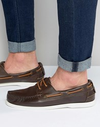 Aldo Damasus Boat Shoes Brown