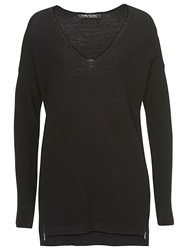 Betty Barclay Long Knitted Tunic Top Black