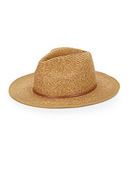 Vince Camuto Knotted Band Hat Tan
