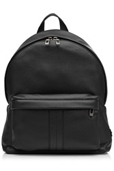 Tod's Tods Leather Backpack With Gilded Logo Embellishment Black