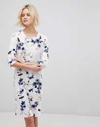 B.Young Floral Shift Dress Multi