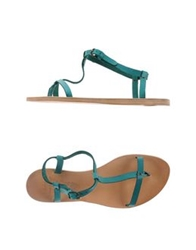 N.D.C. Made By Hand Thong Sandals Coral