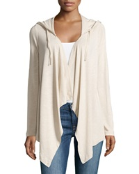 Xcvi Rory Draped Hooded Sweater Seasalt