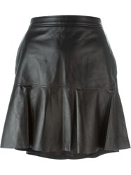 Coach Fluid Mini Skirt Black