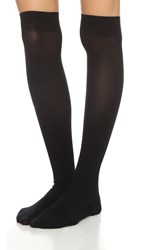 Wolford Louise Ribbed Stockings Black