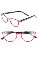 Women's Kate Spade New York 'Ebba' 50Mm Reading Glasses Pink Black