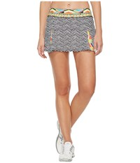 Trina Turk Geo Engineer Skirt Multi Women's Skort
