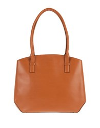 Lodis Audrey Patty Leather Tech Satchel Toffee Chocolate