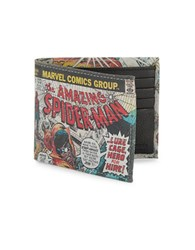 Marvel Slim Bi Fold Wallet Multi