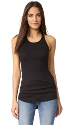 Splendid 2X1 Racer Back Tank Top Black