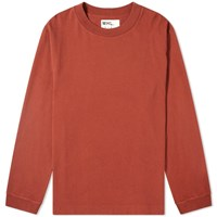 Mhl By Margaret Howell Mhl. Wide Neck Crew Sweat Red