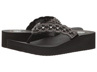 Yellow Box Pearly Black Women's Shoes