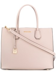 Michael Michael Kors Mercer Tote Leather Pink Purple
