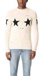 Marc Jacobs Star Sweater Natural Combo