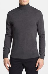 Men's Vince Camuto Merino Wool Turtleneck Charcoal
