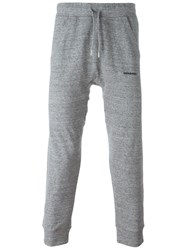 Dsquared2 Drop Crotch Track Trousers Grey