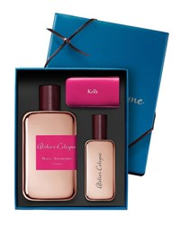 Atelier Cologne Rose Anonyme Extrait Cologne Absolue 200 Ml With Personalized Travel Spray 30 Ml Bordeaux