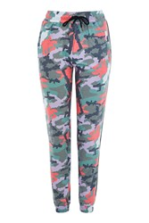 Topshop Camouflage Joggers Multi