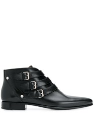 Givenchy Buckle Detail Boots Black