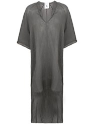 Lost And Found Rooms Long Tail Dress Grey