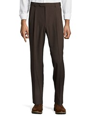 Palm Beach Expander Plain Dress Pant Brown