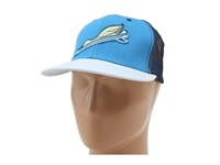 Toes On The Nose Duck Dive Trucker Hat Pacific Blue Caps