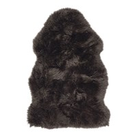 Amara Sheepskin Rug Chocolate Brown
