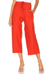 Free People Movement Sideline Pant Red