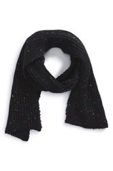 The Rail 'Donegal' Scarf Black