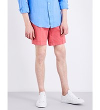 Polo Ralph Lauren Straight Fit Cotton Shorts Desert Red
