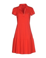 Pirelli Pzero Dresses Knee Length Dresses Women Red